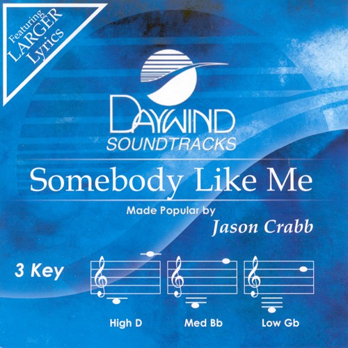 Somebody Like Me, Accompaniment CD