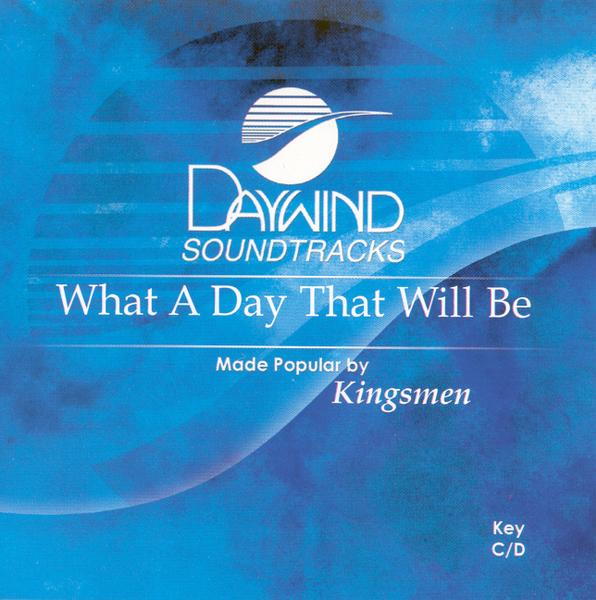 What A Day That Will Be, Accompaniment CD