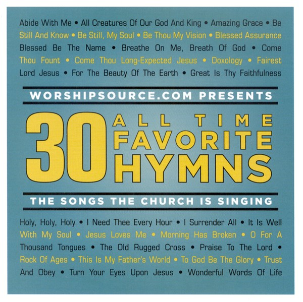 30 All Time Favorite Hymns, 2 CDs