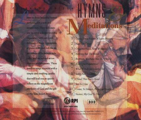 Hymns & Meditations, Compact Disc [CD]