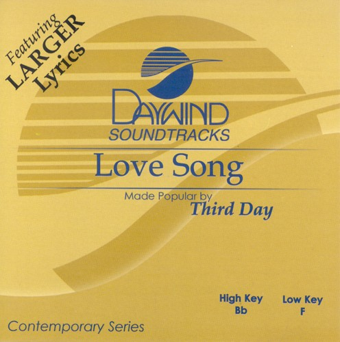 Love Song, Accompaniment CD