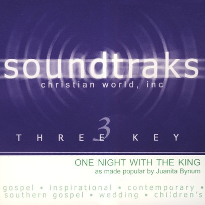 One Night With The King, Accompaniment CD