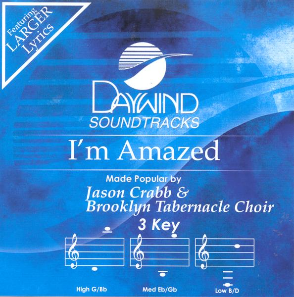 I'm Amazed, Accompaniment CD
