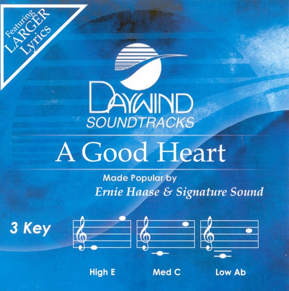 A Good Heart, Accompaniment CD