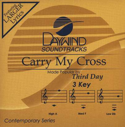 Carry My Cross, Accompaniment CD
