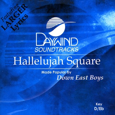 Hallelujah Square, Accompaniment CD