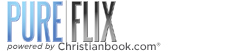 PureFlix with Christianbook.com Logo