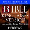 The Listener's Bible (KJV): Hebrews [Download]