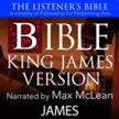 The Listener's Bible (KJV): James [Download]