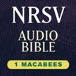 NRSV Audio Bible: 1 Maccabees (Voice Only) [Download]