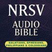 NRSV Audio Bible: Galatians, Ephesians, Philippians, and Colossians (Voice Only) [Download]