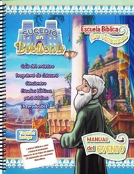 It Happened In Babylon Spanish VBS Logo