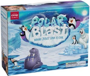 Polar Blast Weekend VBS Logo