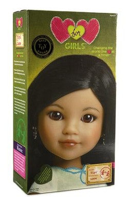 Hearts for Hearts Girls, Tipi from Laos Doll     -