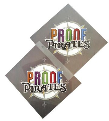 Proof Pirates Iron-on Transfer, pack of 10  -