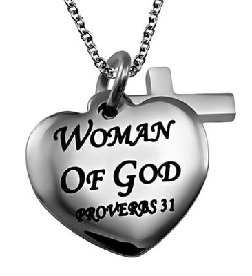 Woman of God, Sweetheart Necklace   -