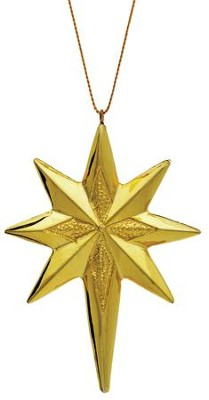 Star Ornament for Real Life Nativity Ornament Set  -