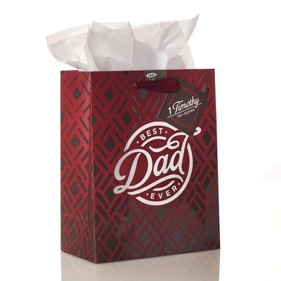 Best Dad Ever, Gift Bag, Medium  -