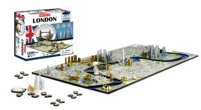 4D Cityscape History Over Time Puzzle, London  -