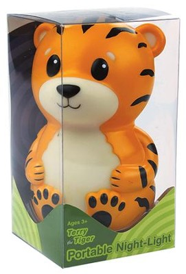 Terry the Tiger Portable Nightlight  -