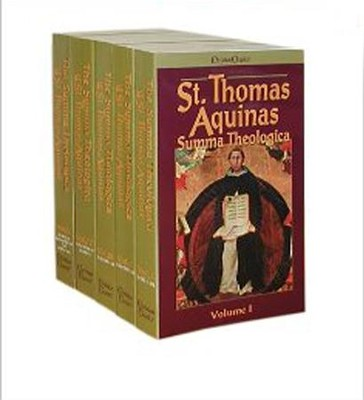 The Summa Theologica of Thomas Aquinas, 5 Vols.   -     By: Thomas Aquinas