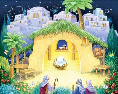 Kid's Nativity Sticker Advent Calendar  -