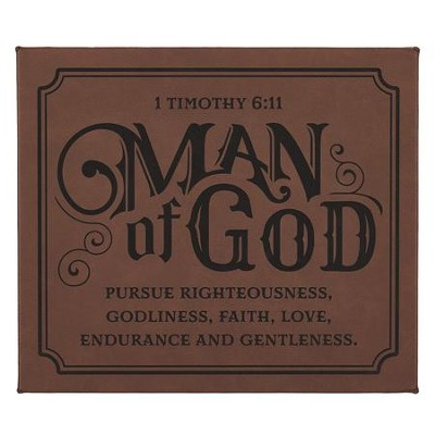 Man of God Wall Plaque  -