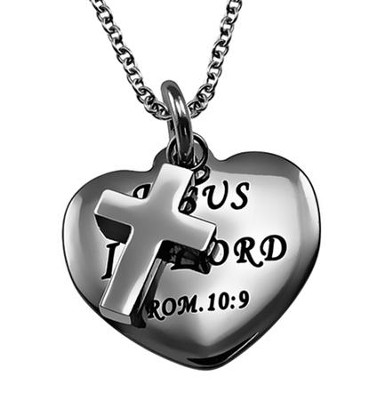Jesus Is Lord, Sweetheart Necklace   -