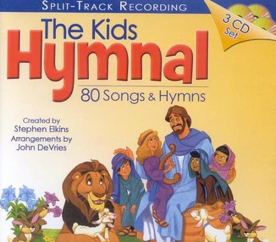 The Kids Hymnal: 80 Songs and Hymns 3-CD Set  - Slightly Imperfect  -
