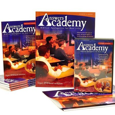 Answers Academy: Biblical Apologetics for Real Life!   -