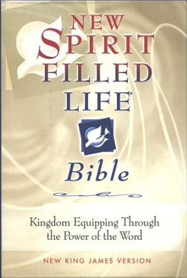 NKJV New Spirit Filled Life Bible, Burgundy Bonded Leather, Thumb Indexed  -     By: Bible