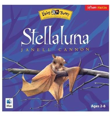 Living Books Stellaluna Janell Cannon CD-ROM