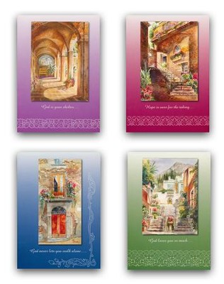 Doors Will Open, Praying for You Cards, Box of 12   -     By: Rita Zaudke