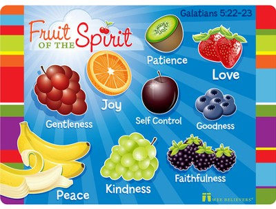 Fruit of the Spirit Placemat  -