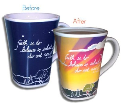 Color Changing Mug, Faith  -