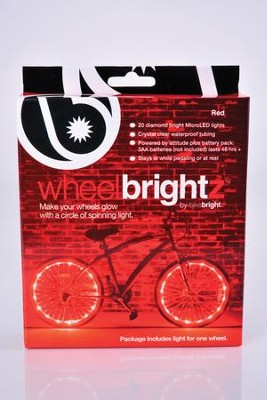 Wheel Brightz Lights, Red  -