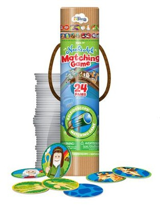 Noah's Ark, Matching Game, 48 Pieces  -