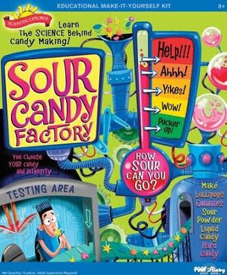 Sour Candy Science  -