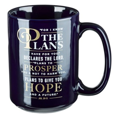 For I Know the Plans Mug  -