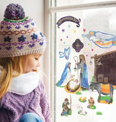 Advent Calendar Window Clings  -