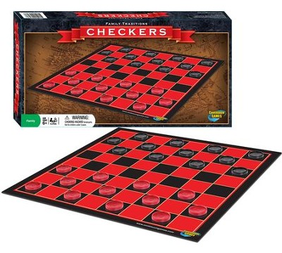 Family Traditions Checkers  -
