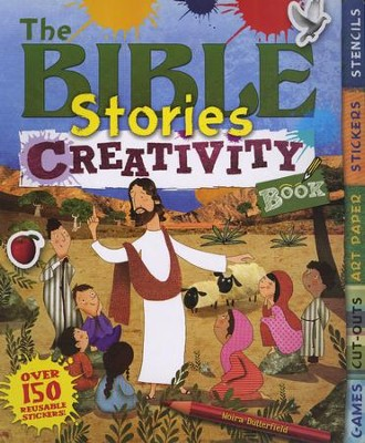 The Bible Stories Creativity Book  -     By: Moira Butterfield