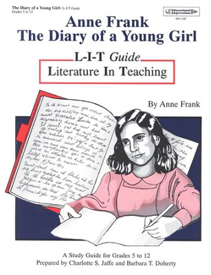 Anne Frank Diary Of A Young Girl L-I-T Study Guideo 12   -