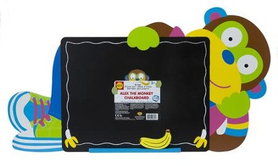 Alex the Monkey Chalkboard   -