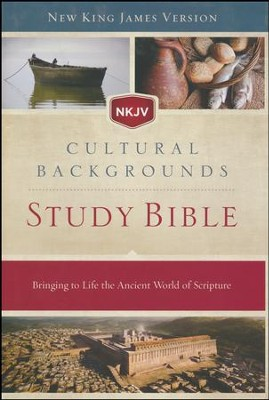 NKJV, Cultural Backgrounds Study Bible, Hardcover  -     Edited By: Craig S. Keener, John H. Walton