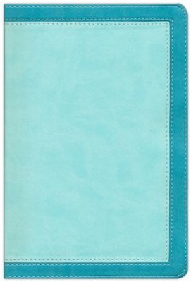 NIV Woman's Study Bible, Leathersoft Turquoise & Sea Foam Green Indexed  -