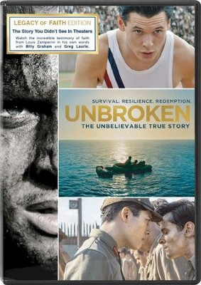 Unbroken: Legacy of Faith Edition, DVD   -