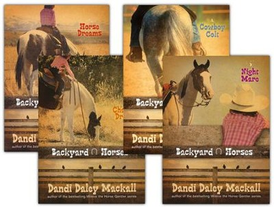 Backyard Horses Series, Volumes 1-4  -     By: Dandi Daley Mackall