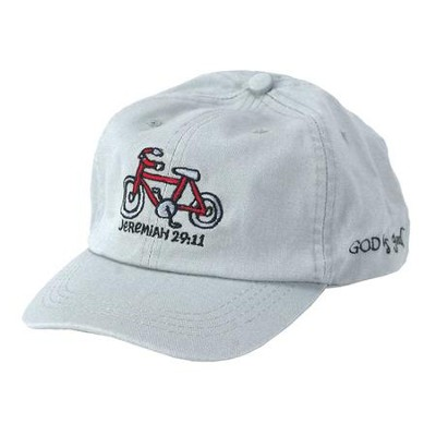 God Is Good, Bicycle, Cap, Gray  -
