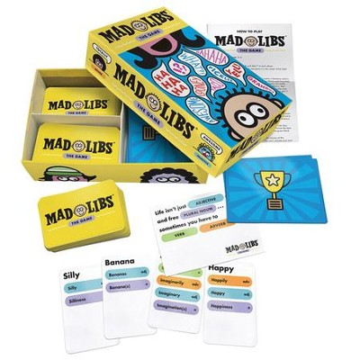 Mad Libs Word-Play Board Game  -
